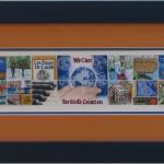 16 Square Mosaic - About Carole